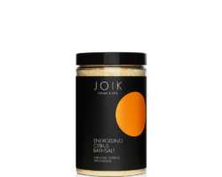 Joik Organic Vegan Uplifting Bath Salt with Orange, Lemon and Grapefruit Oils