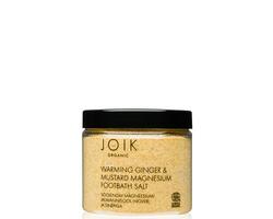Joik Organic Vegan Warming Magnesium Footbath Salt
